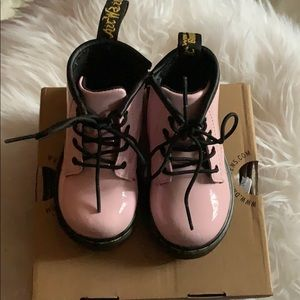 Baby pink Dr. Martens US size 5